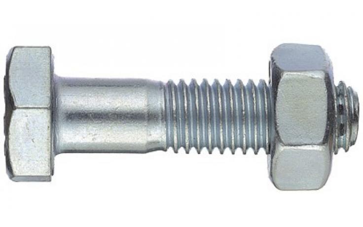 DIN 601, FKL 4.6, pocinkano