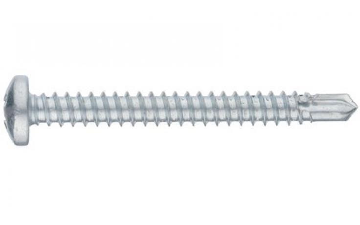 DIN 7504-N, jeklo, pocinkano