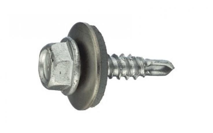 s tesnilno podložko 16 mm, skrajšana vrtalna konica, bimetal (jeklo|legirano jeklo)
