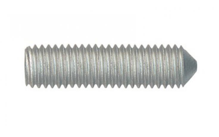 ISO 4027 / DIN 914 • jeklo 45H • cinkova lamelna pevleka