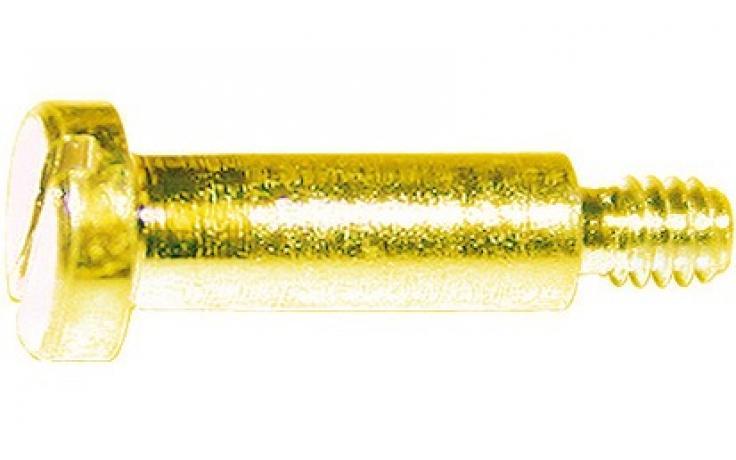 DIN 923, jeklo, FKL 5.8, rumeno pocinkano
