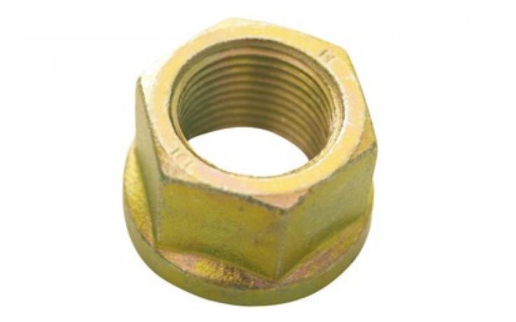 oblika B, ploščato zvezna, jeklo, FKL 8, rumeno pocinkano
