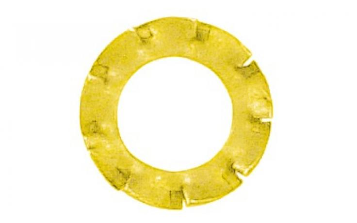DIN 6798 •Oblika V • rumeno pocinkano