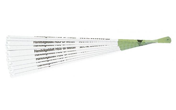 Kovinski žagini listi za ročno žago