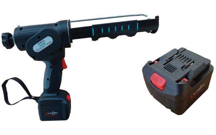 Koaksialna akumulatorska pištola