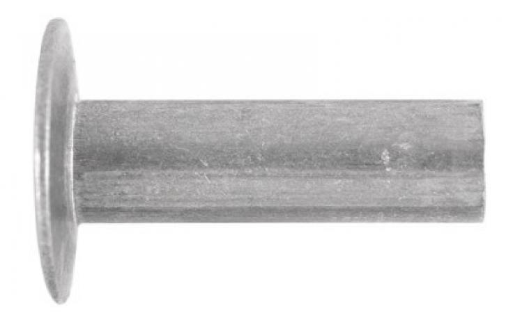 DIN 662, z lečasto glavo, aluminij