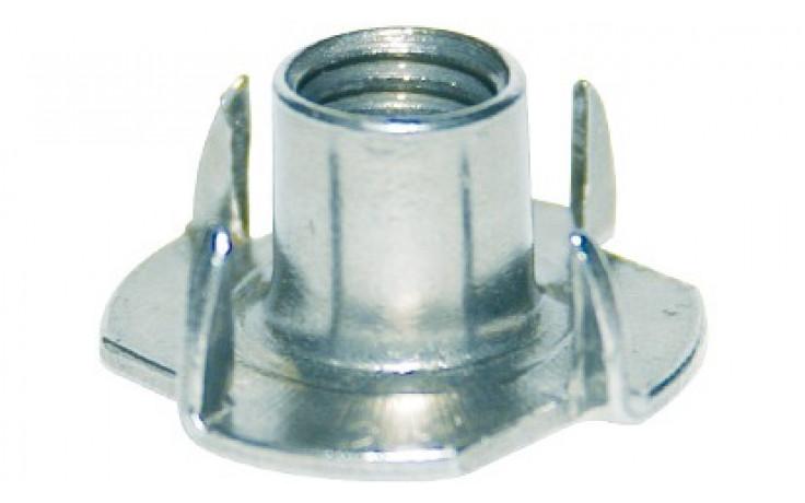 Einschlagmuttern M 6 x 12 Stahl verzinkt
