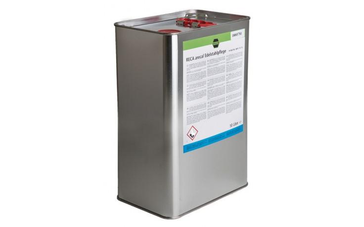 RECA arecal Fillup Edelstahlpflege 10 l in Kunststoffkanister