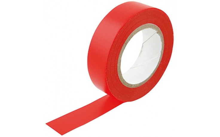 PVC-ISOLIERBAND ROT 15MMx10M