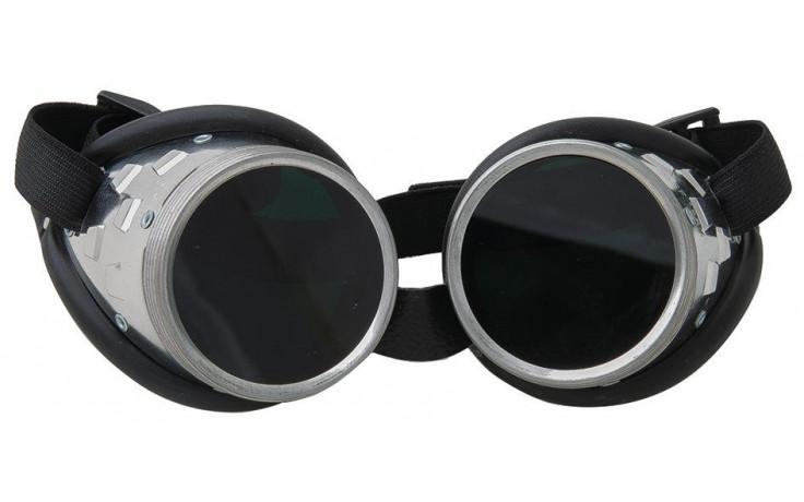 Schweisserschutzbrille, DIN A5, rund, 50 mm