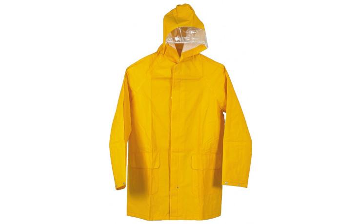 Regenjacke Gelb Polyester Gr. M