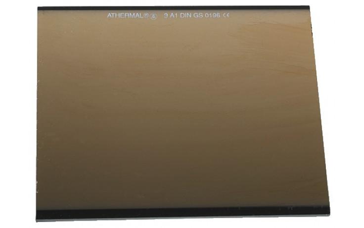 Gläser für Schweißschirm Athermal DIN 9A 90 x 110 mm