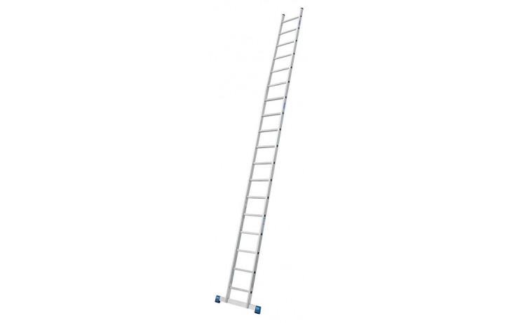 Stabilo Alu-Anlegeleiter, 18 Sprossen, Länge 5,20 m, Arbeitshöhe 6,05 m, 9,0 kg