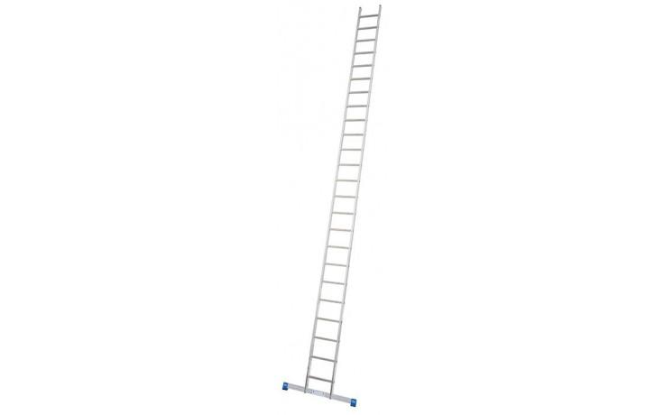Stabilo Alu-Anlegeleiter, 24 Sprossen, Länge 6,90 m, Arbeitshöhe 7,65 m,13,0 kg