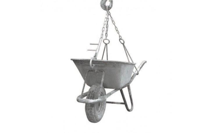 3-Strang-Kettengehänge für Schiebetruhen, Tragkraft 350 kg, Kette 6x18 mm