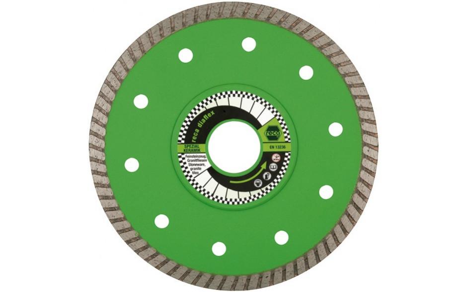 RECA Diaflex-Diamanttrennscheibe für Spezial Keramik Ø 115 mm, Bohrung 22,23 mm
