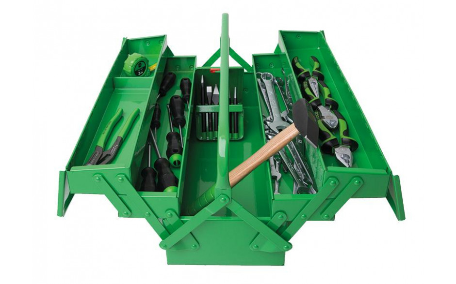 RECA Werkzeugkiste mit Basisausstattung 38-teilig