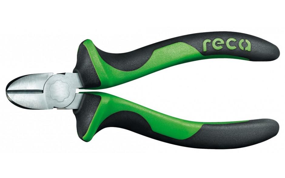 RECA Seitenschneider mit 2-Komponenten-Griff isoliert 180 mm
