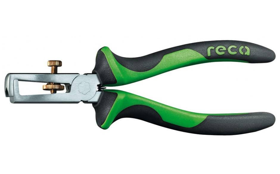 RECA Abisolierzange mit 2-Komponenten-Griff isoliert 160 mm