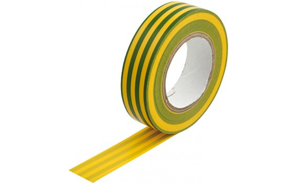 PVC-Isolierband grün/gelb 15 mmx10m