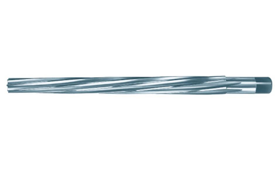 Stiftlochreibahle DIN9 HSS 1:50 spiralgenutet mit Zylinderschaft und 4-kt. 3 mm Nenndurchmesser