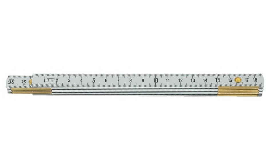 Gliedermaßstab, Leichtmetall, Länge 1 m