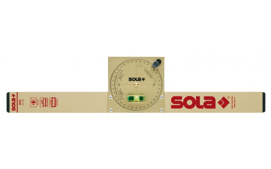 SOLA Neigungswasserwaage APN 60 Länge 600 mm