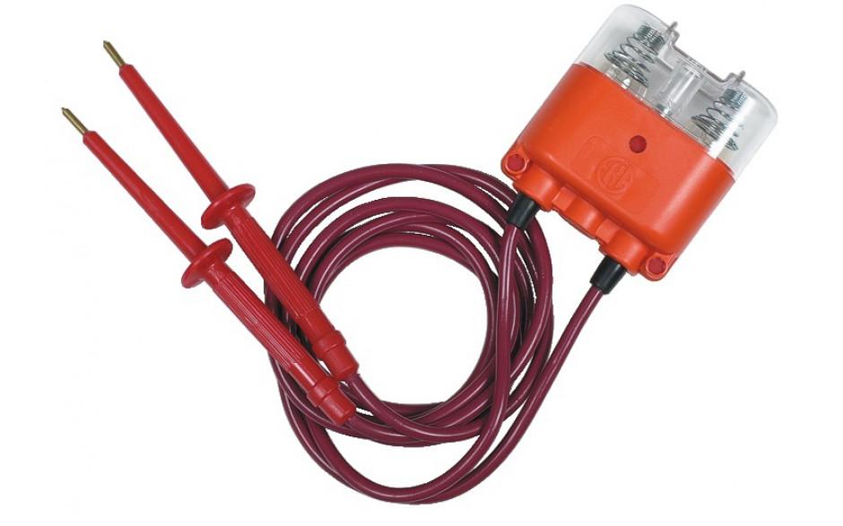 Patent-Prüflampe, Messbereich bis 500 V