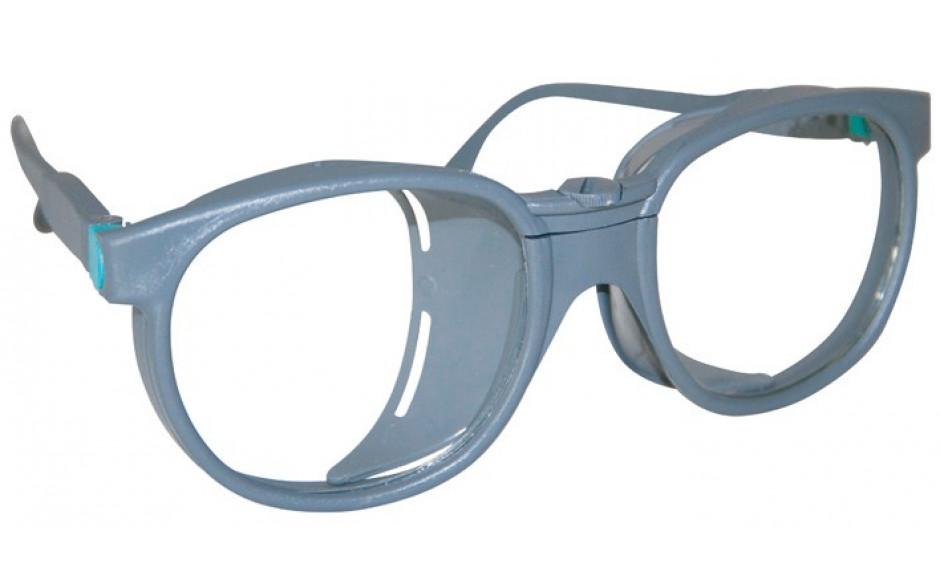 Schweisserschutzbrille, DIN A5, oval