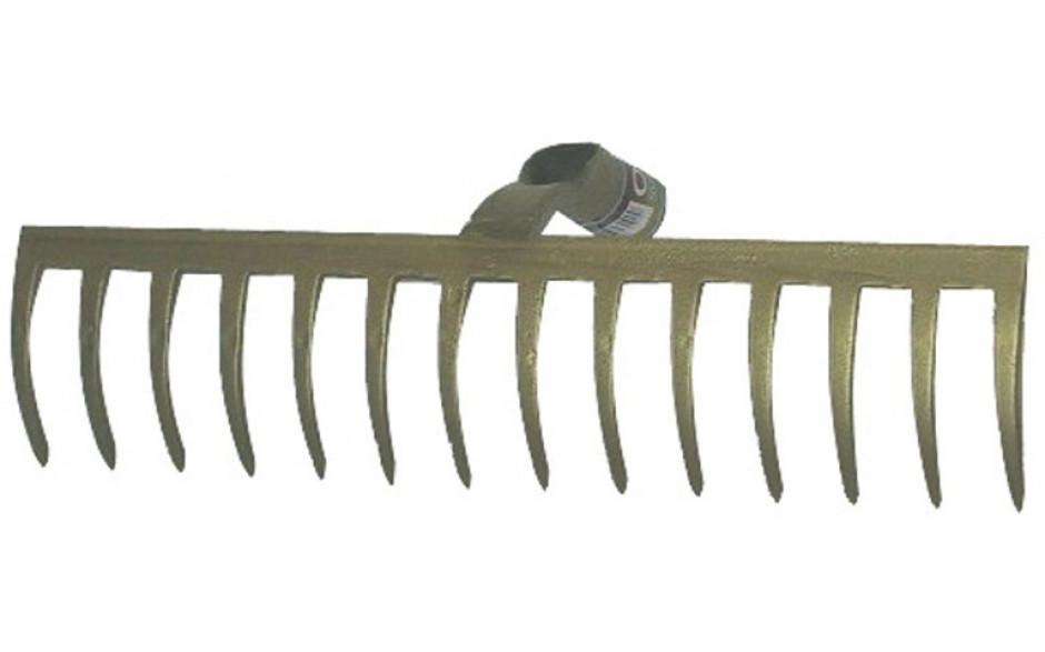 Gartenrechen, ohne Stiel, 12 Zinken, Breite 320 mm