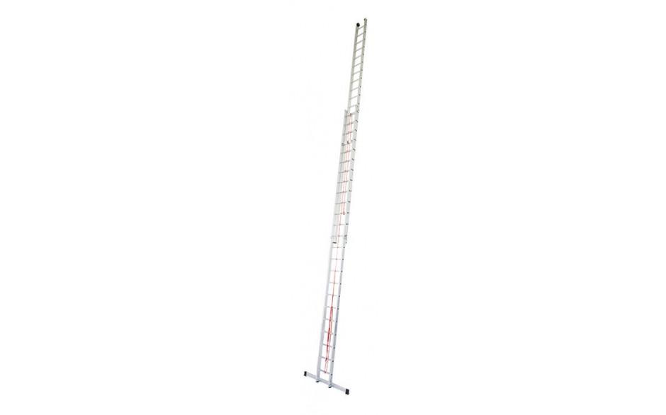 Stabilo Alu-Seilzugleiter,2x24Sprossen,Länge6,90/12,70m,Arbeitshöhe13,7m,41,0kg