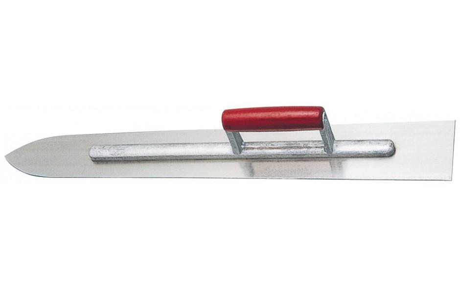 Bodenlegerschwert 600 x 120 x 1,2 mm Rostfrei