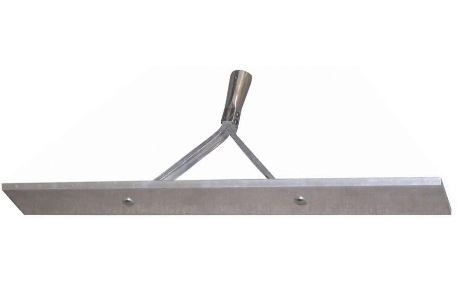 Aluminium Asphaltschieber 700 mm mit Stiel und Strebe