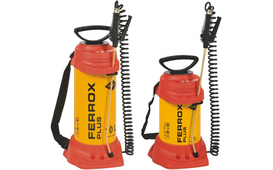 MESTO Schalölspritze Ferrox Plus 6 l mit kompletter Spritzleitung und Rohr