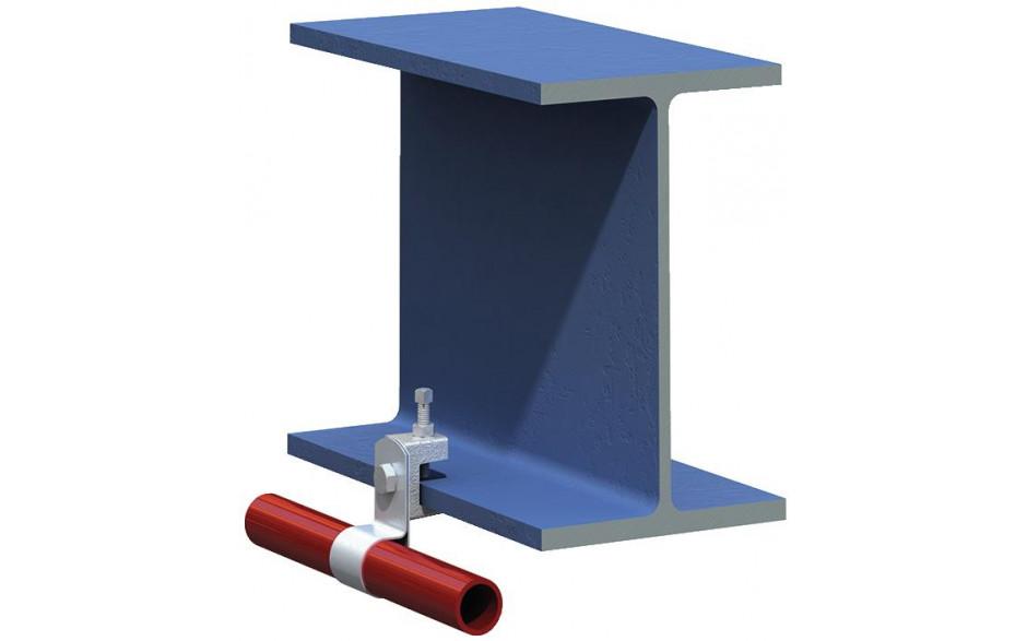 Lindapter® Flanschklemme Typ LC - Temperguss - verzinkt blau - LC08