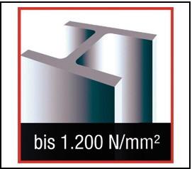 Maschinengewindebohrer Ultra DIN 371-C HSSE-TiCN rot M 5