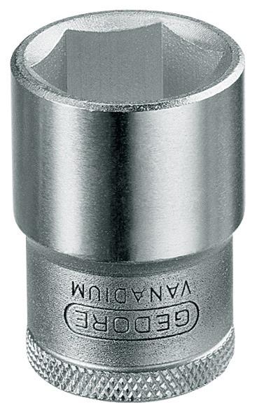 """6-Kant-Steckschlüsseleinsatz Antrieb 1/2"""" SW 30 mm"""