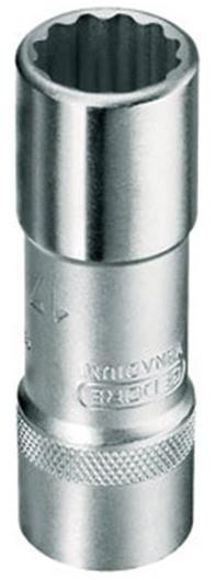 """GEDORE 12-Kant-Steckschlüsseleinsatz lange Ausführung Antrieb 1/2"""" SW 14 mm"""