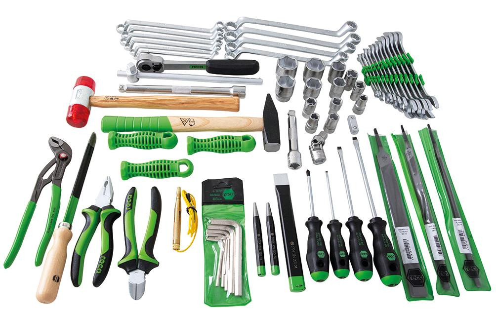 RECA Werkzeugsatz für Werkstattwagen Cargo 67-teilig