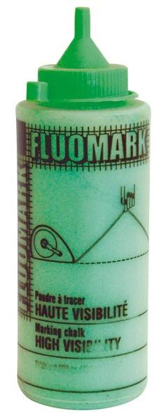 Markierungspuder 250 g, Gebinde neon - grün
