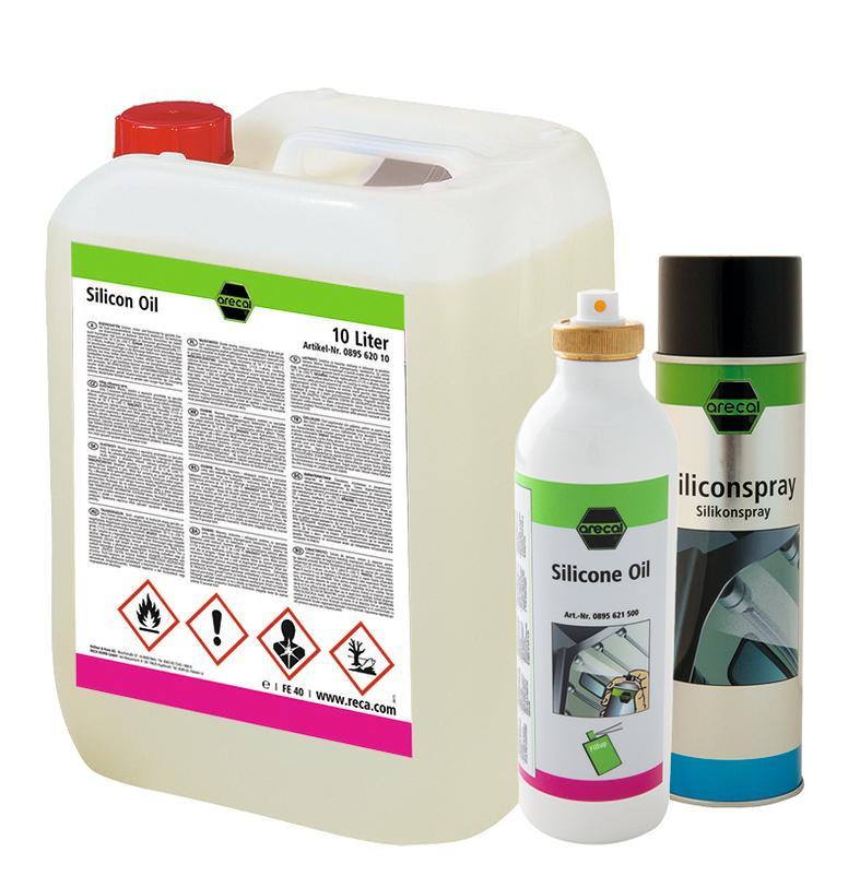 RECA arecal Fillup Silicone-Öl Leerdose 500 ml