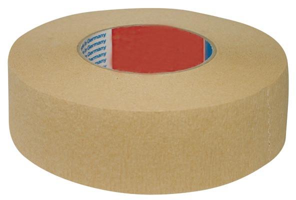 Kreppband, Breite 50 mm, Länge 50m, gerippt
