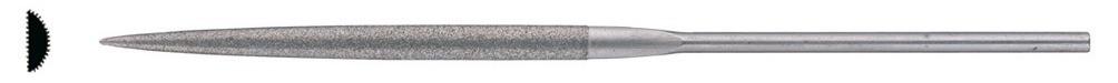 Diamant-Nadelfeile 140 mm D 126 halbrund