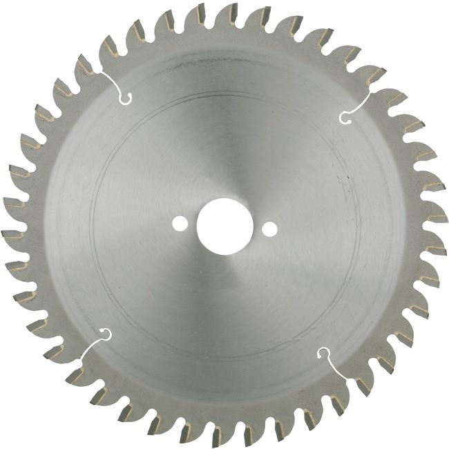 HM-Kreissägeblatt Durchmesser 150 mm 42 Zähne Bohrung 20/16 für Holz und Aluminiumprofile