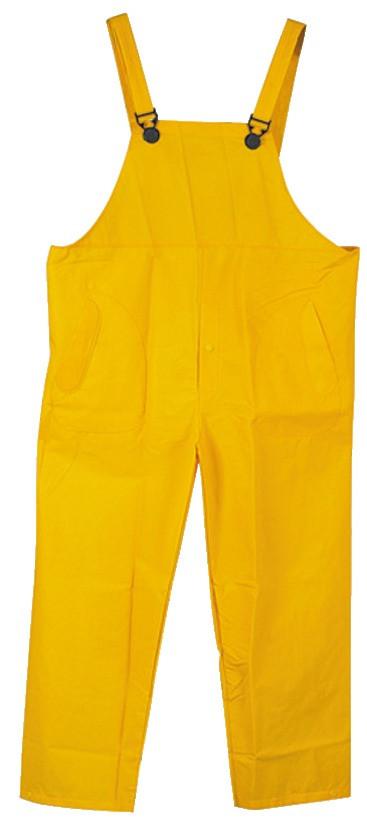 Regenlatzhose Gelb Polyester Gr. L