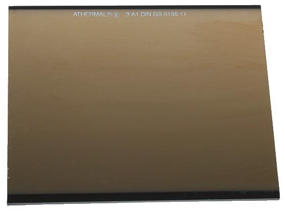 Gläser für Schweißschirm Athermal DIN 11A 50 x 105 mm
