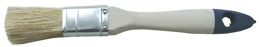 Flachpinsel 12 mm blau 3 Zoll breit