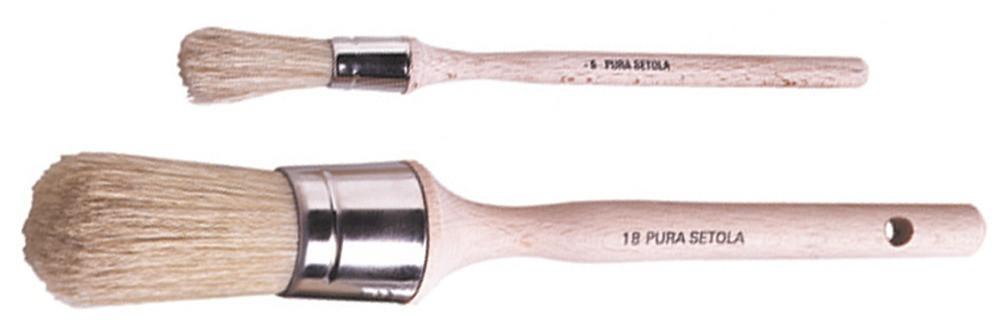 Rundpinsel, Größe 8 mm
