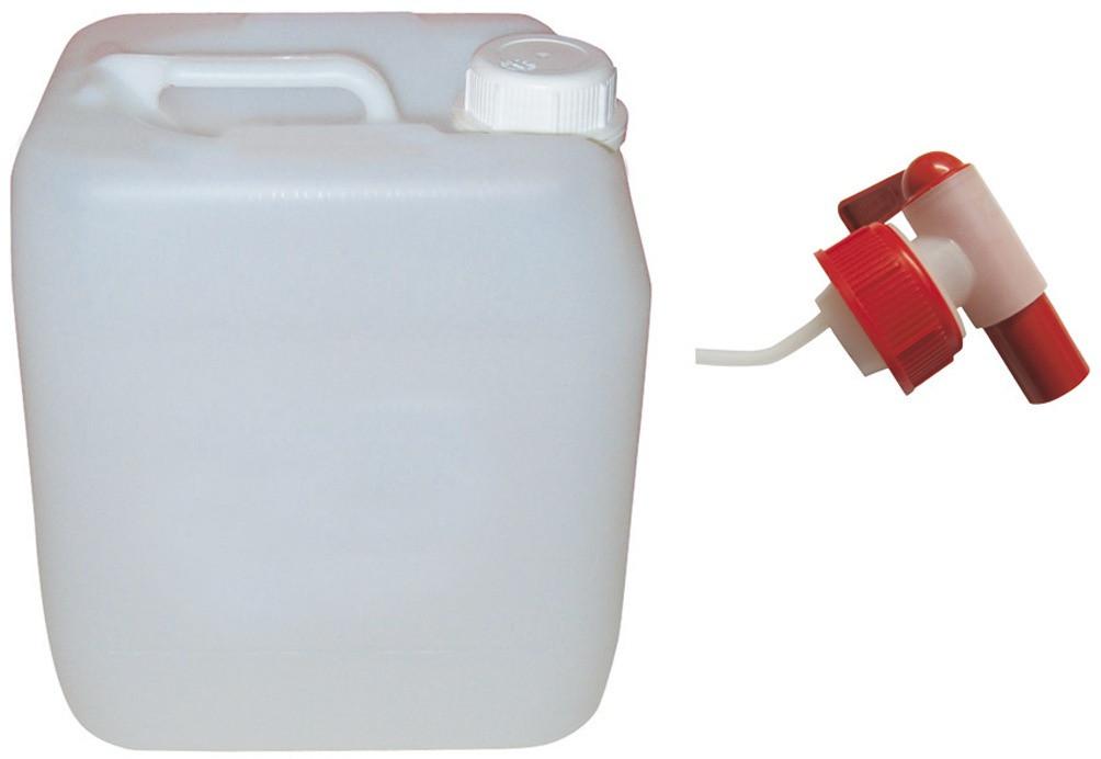 Ablasshahn für Euro-Kanister 5 + 10 Liter aus Kunststoff