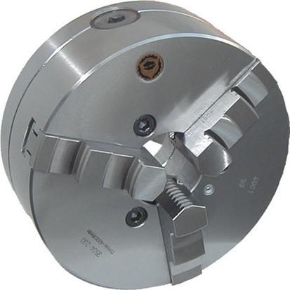 Drehbankfutter 3-BK Stahl DIN 6350 160 mm